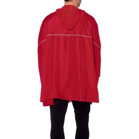 VAUDE Valdipino Poncho red